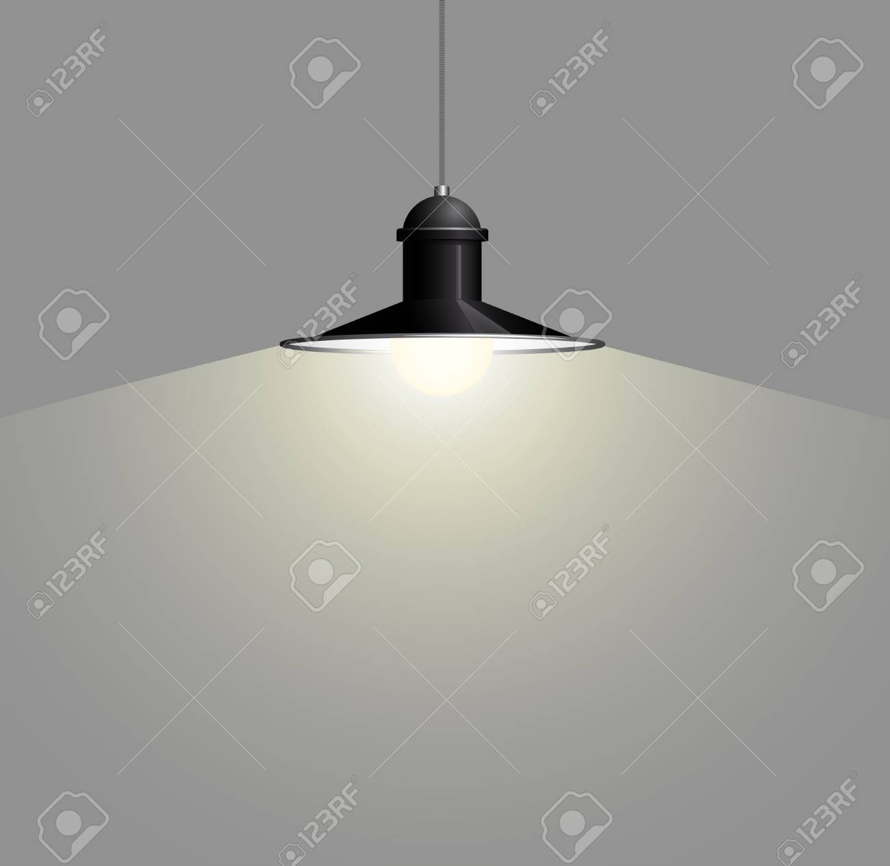 Draht Lampe Stock Photo