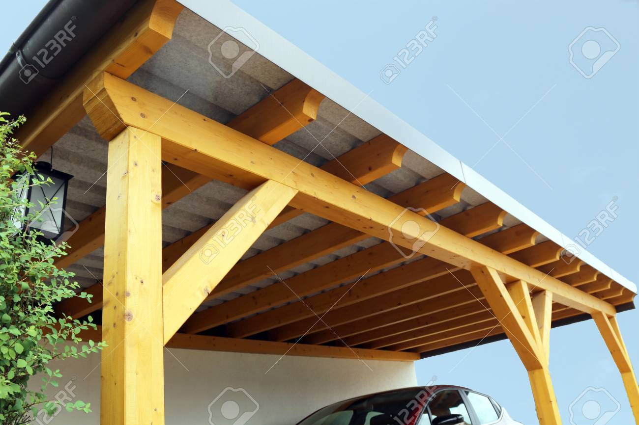 Zeichnung Carport High Quality Wooden Carport