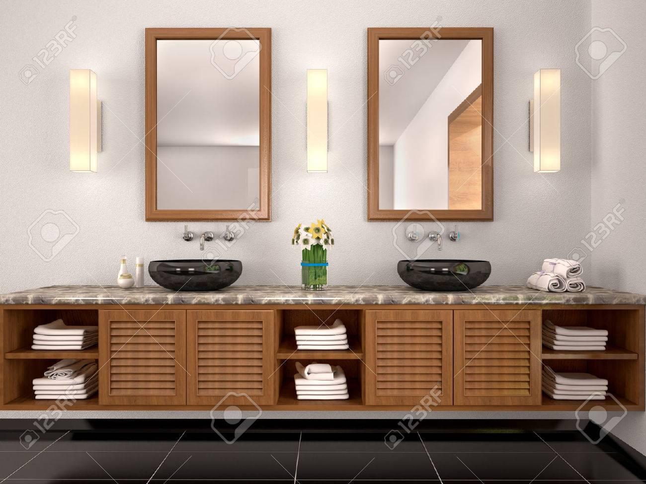 Badezimmer Ideen Zwei Waschbecken Beste Bad Unterschrank Fur