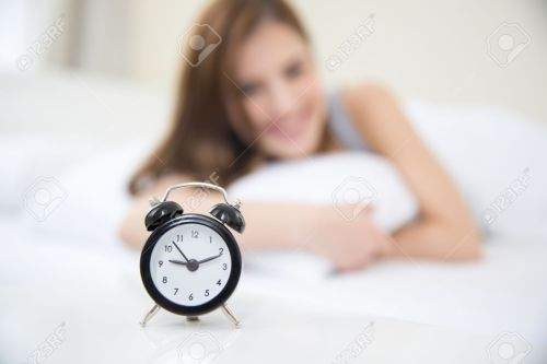 Medium Of Looking At Clock