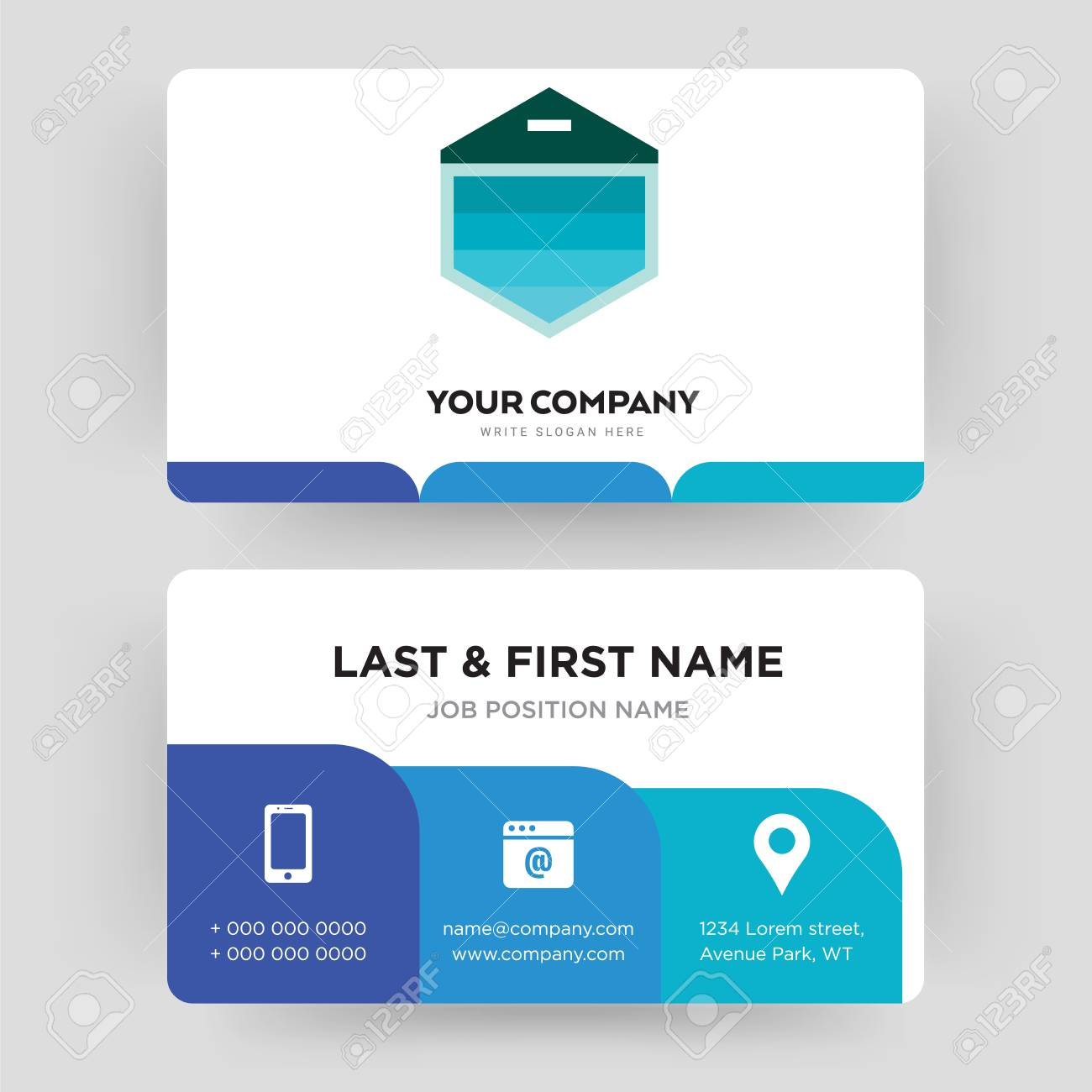 Garage Design Template Garage Door Business Card Design Template Visiting For Your