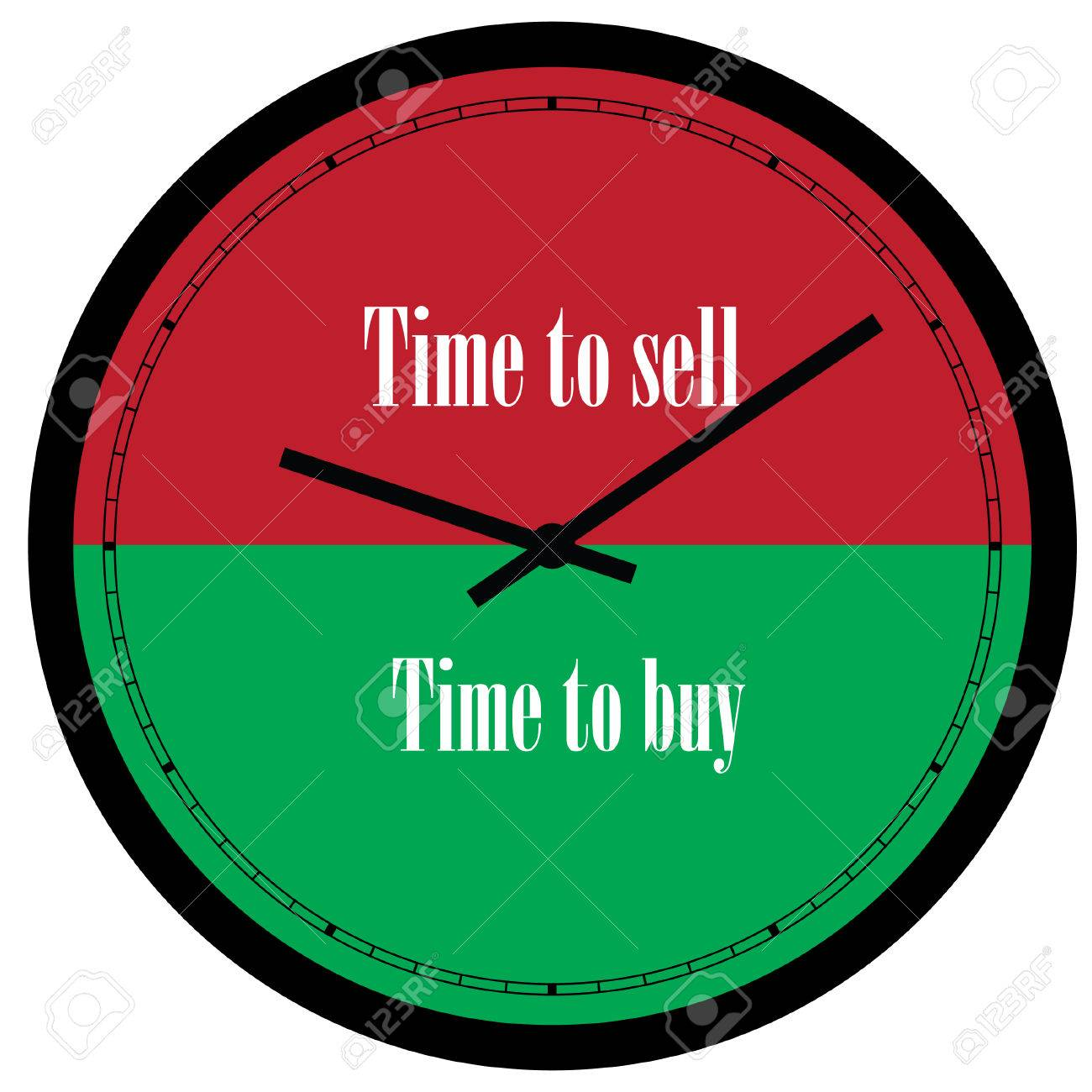 Buy Clock Stock Illustration