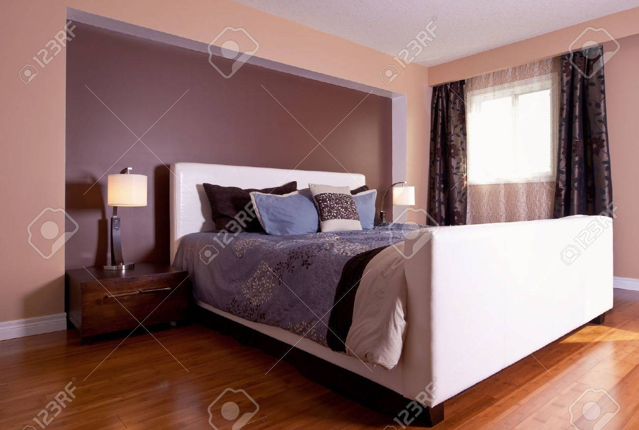 Schlafzimmer Moderne Stock Photo