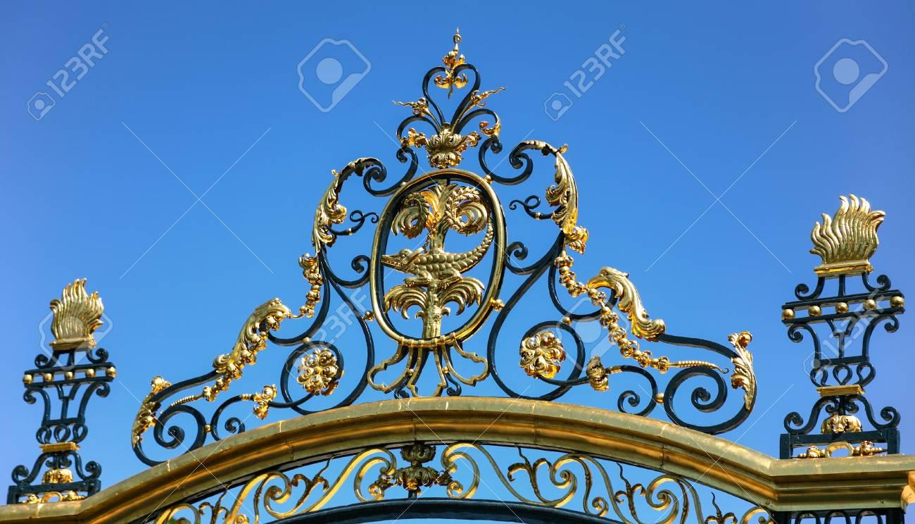 Decoration Nimes Travel To Provence France Decoration Of Gate Of Ancient Jardins