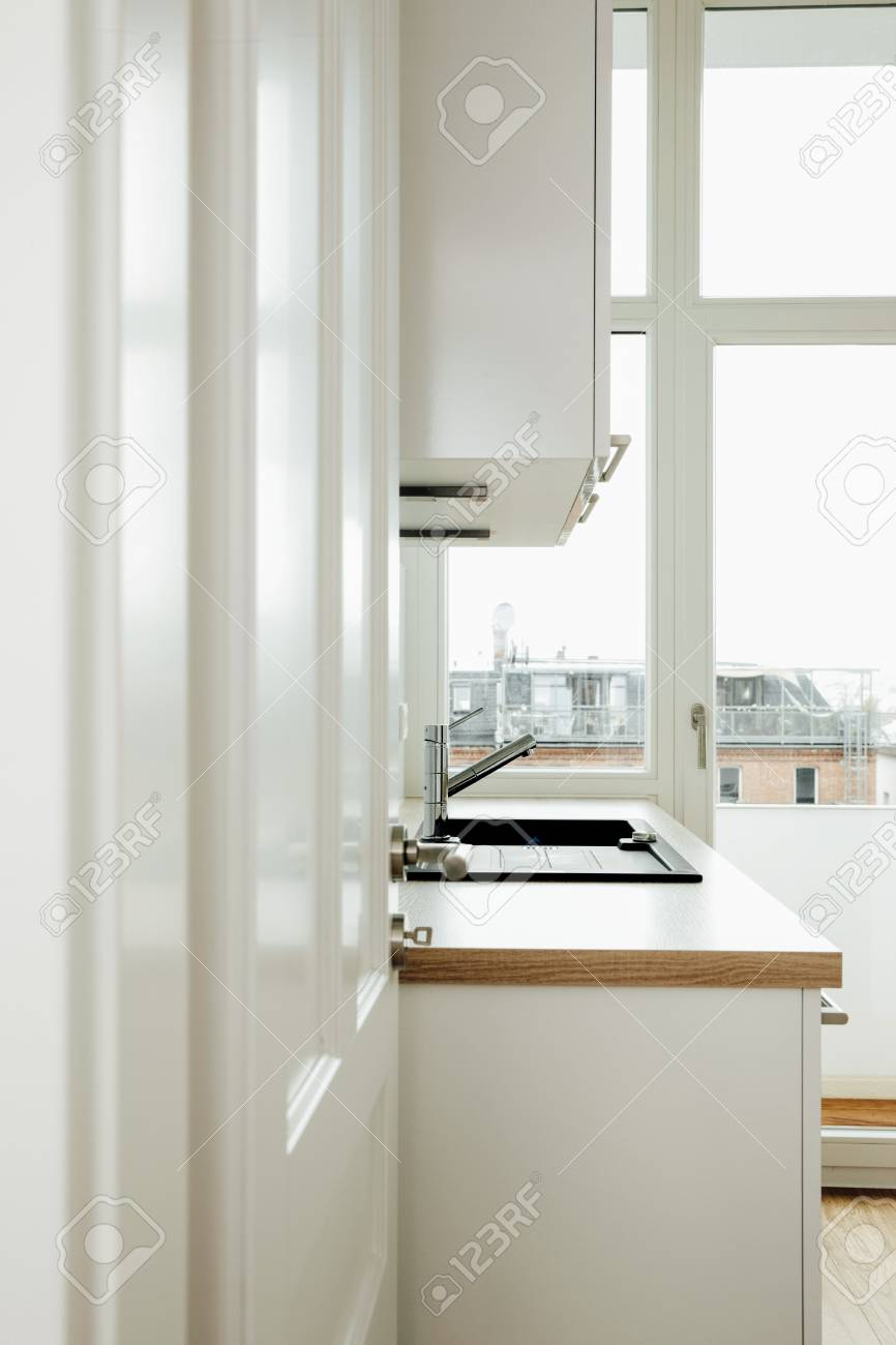 Kitchen Open Door Design Kitchen Open Door Stock Photo Picture And Royalty Free Image