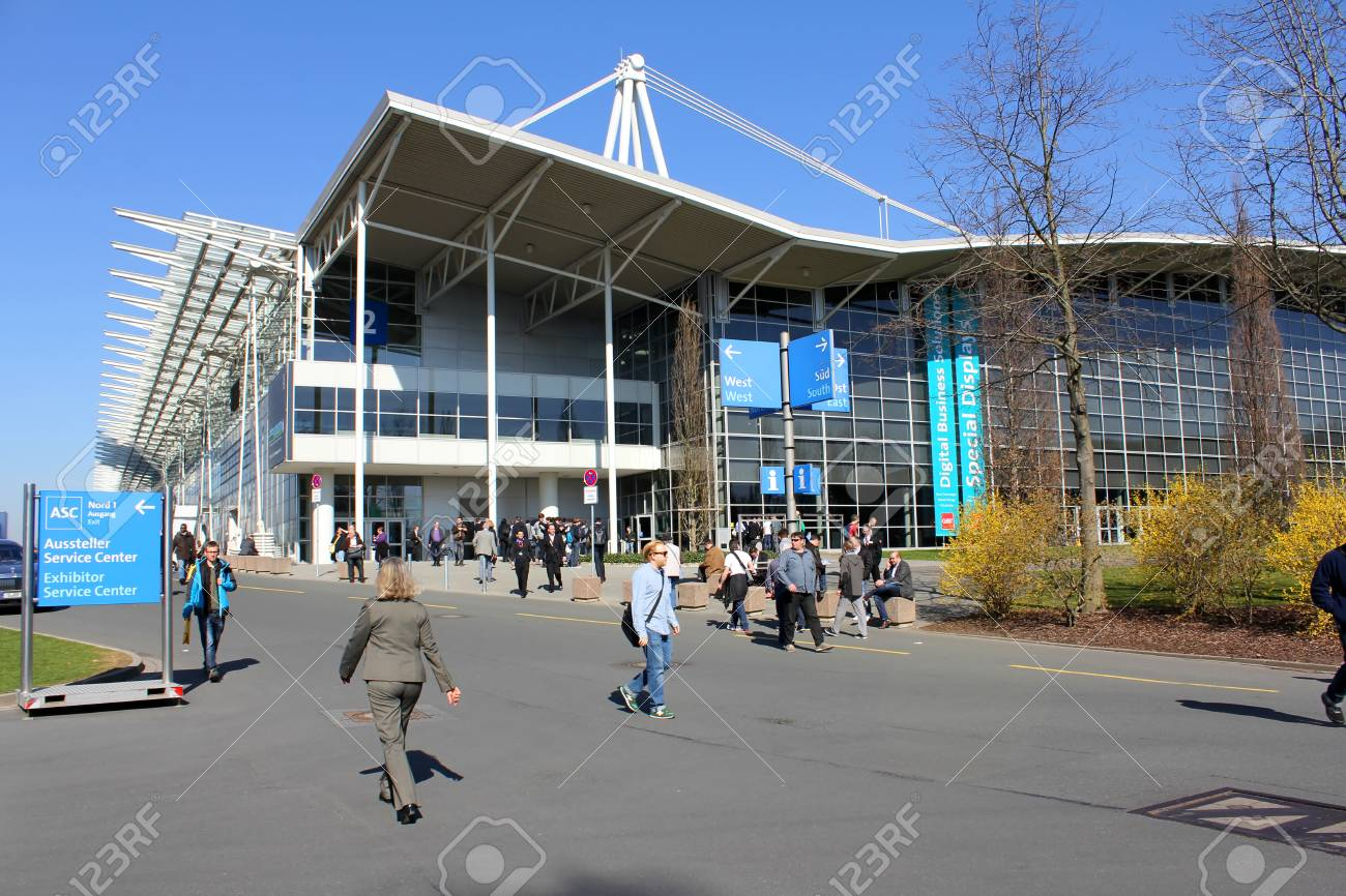 Expo Plaza Hannover Hannover Germany March 13 The Exhibition Ground On March