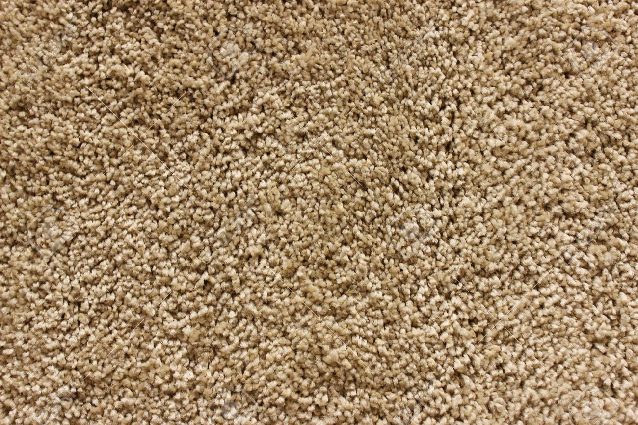 Beige Teppich Stock Photo