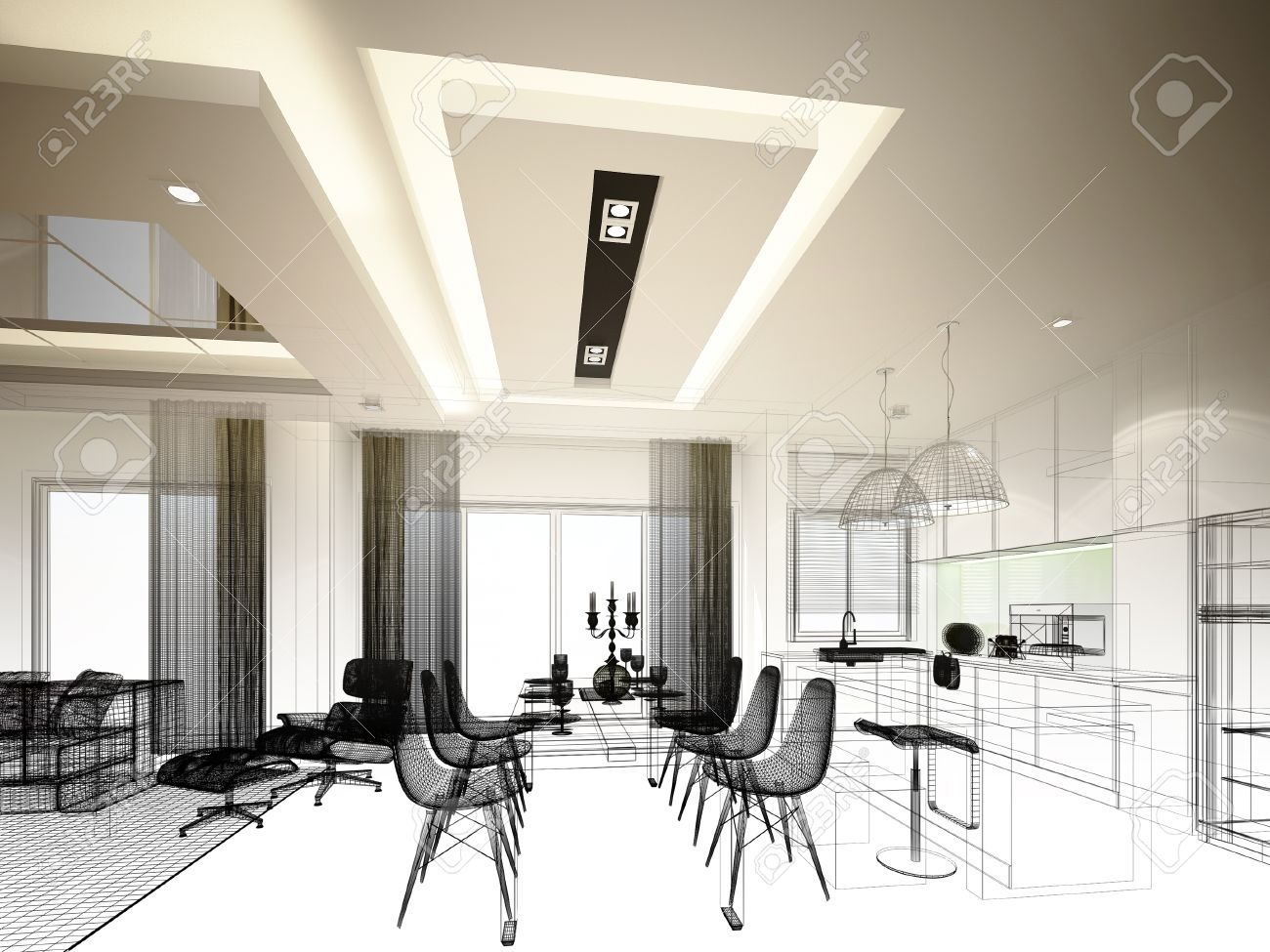 Cucina 3d | Progettare Cucina 3d Gratis Programma Per Progettare ...