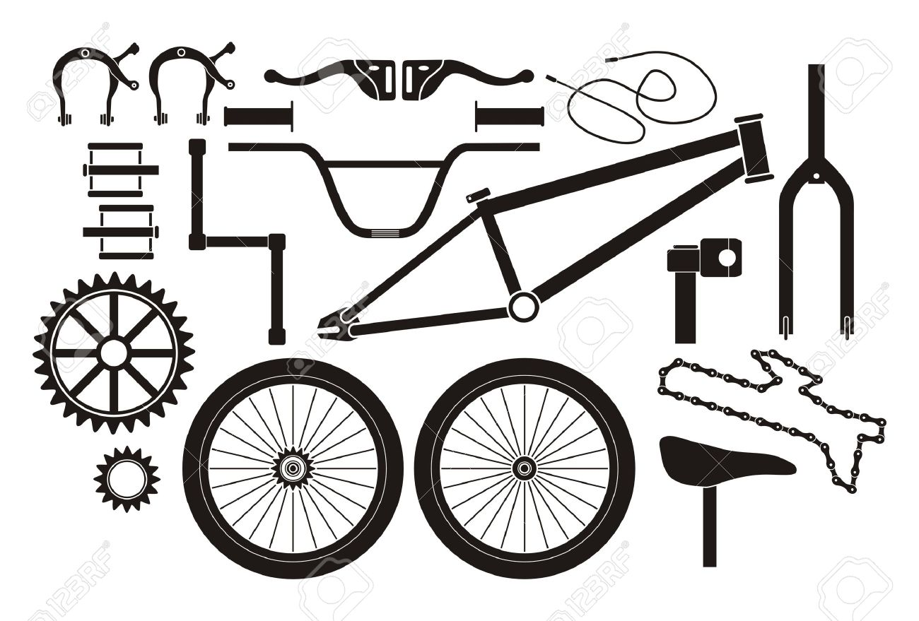 Bmx Parts Bmx Parts Pictogram