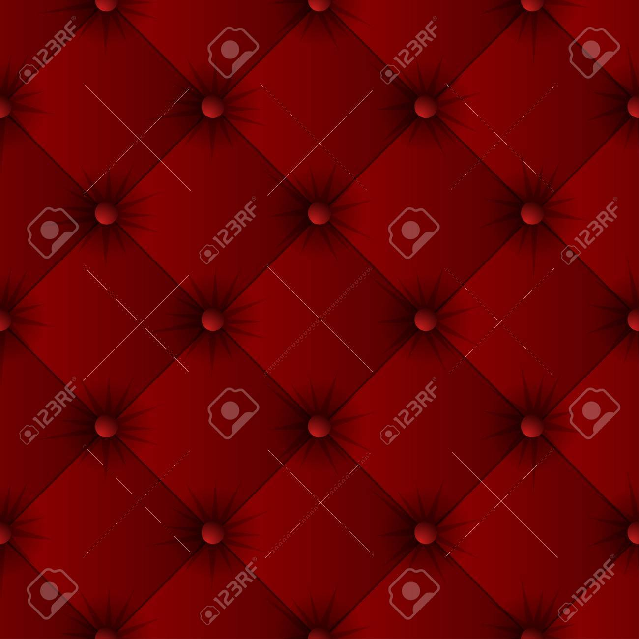 Sofa Texture Vector Red Sofa Texture Seamless Pattern Easy Editable Background Color
