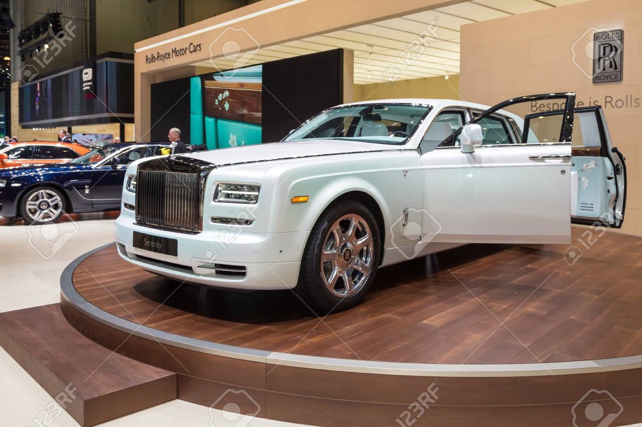 Phantom Serenity Geneva Switzerland March 4 2015 2015 Rolls Royce Phantom
