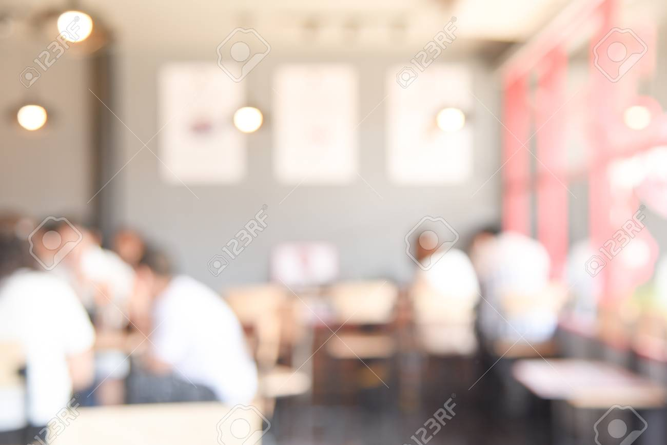 Vintage Café Abstract Blurred Restaurant Background Blur Vintage Cafe Interior