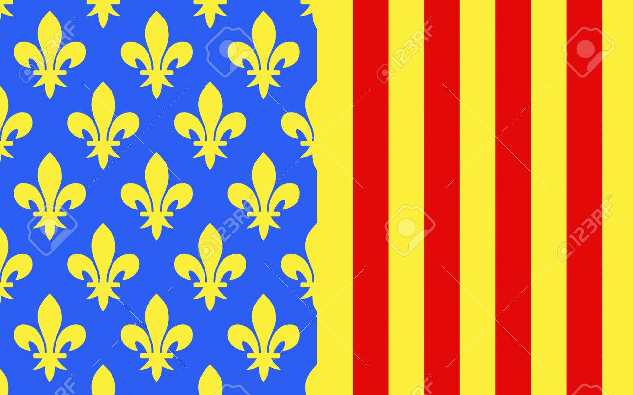Languedoc Roussillon Région Flag Of Lozere Is A Department In The Region Of Languedoc Roussillon Midi Pyrenees