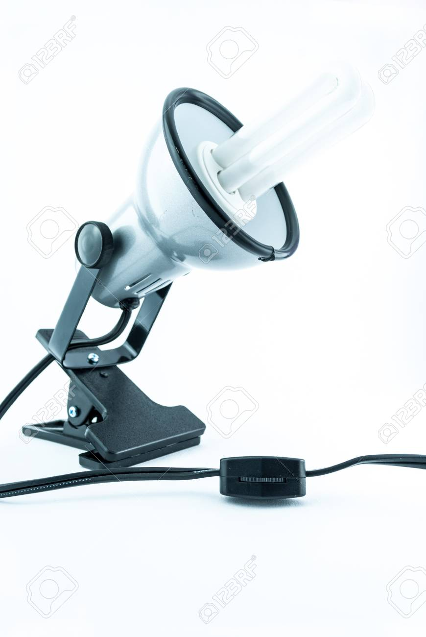 Silberne Lampe Stock Photo