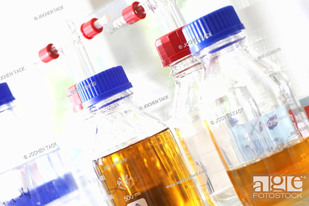 Glass jars, Centre for Medical Biotechnology at the University of