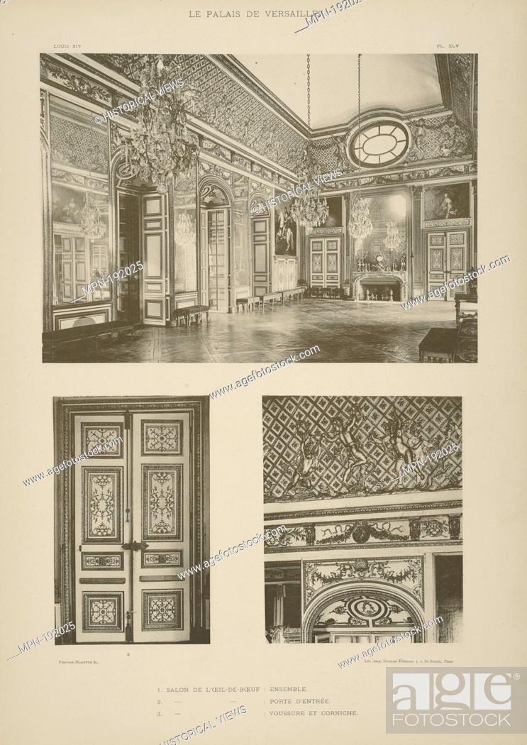 1 Salon de l\u0027œil-de-bœuf ensemble 2 Salon de l\u0027œil-de-bœuf - Oeil De Porte D Entree