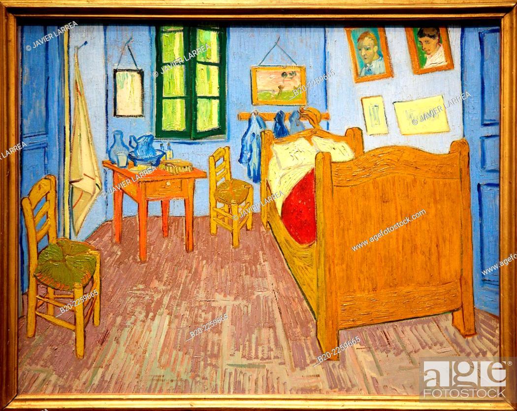 La chambre de Van gogh a Arles 1889, Vincent Van Gogh Musée d\u0027Orsay - Description De La Chambre De Van Gogh