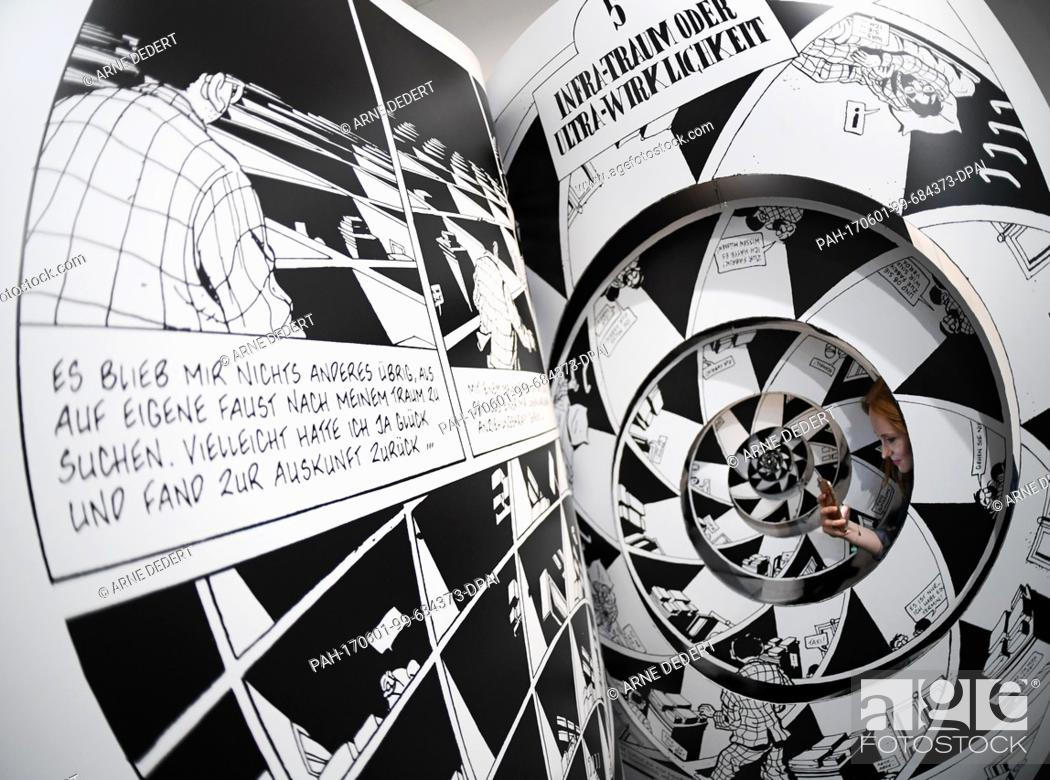 Mak Frankfurt A Comics Installation From The First Work By French Comic Artist Marc-antoine Mathieu, Stock Photo, Picture And Rights Managed Image. Pic. Pah-170601-99-684373-dpai | Agefotostock
