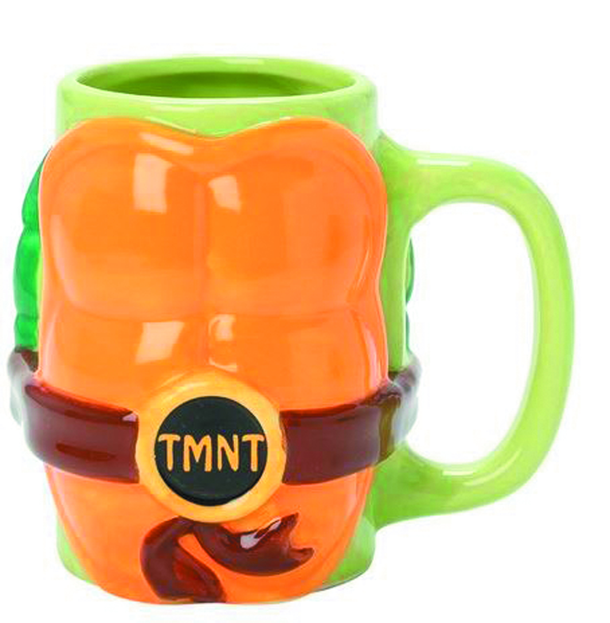 Ninja Mugs Jun152717 Teenage Mutant Ninja Turtles Molded Mug