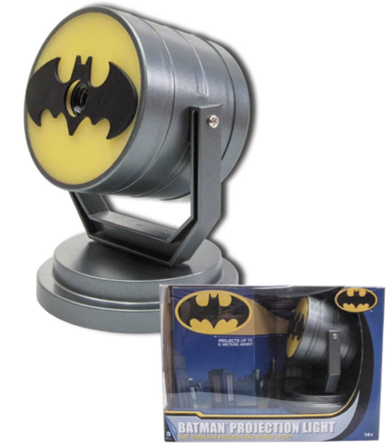 Lampada Batman Apr168562 Batman Bat Signal Projector Light Previews World