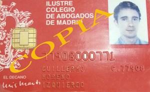 licencia de abogado guillermo moreno