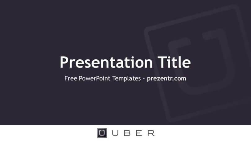 Free Uber PowerPoint Template - Prezentr PPT templates