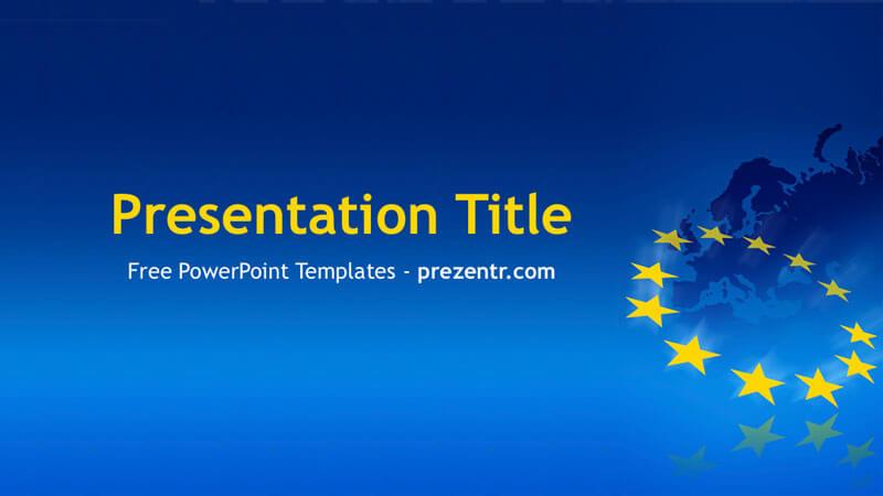 Free EU PowerPoint Template - Prezentr PPT Templates