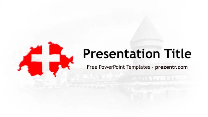Switzerland PowerPoint Template \u2013 Prezentr