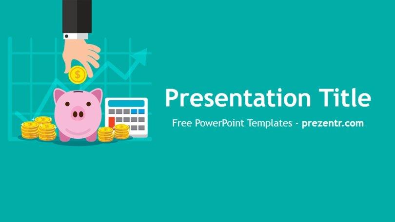 Free Personal Finance PowerPoint Template - Prezentr PowerPoint