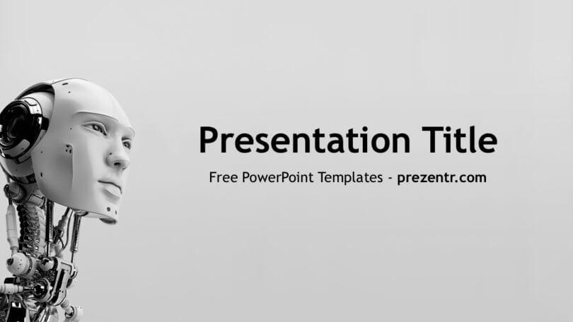 Free AI PowerPoint Template - Prezentr PPT Templates