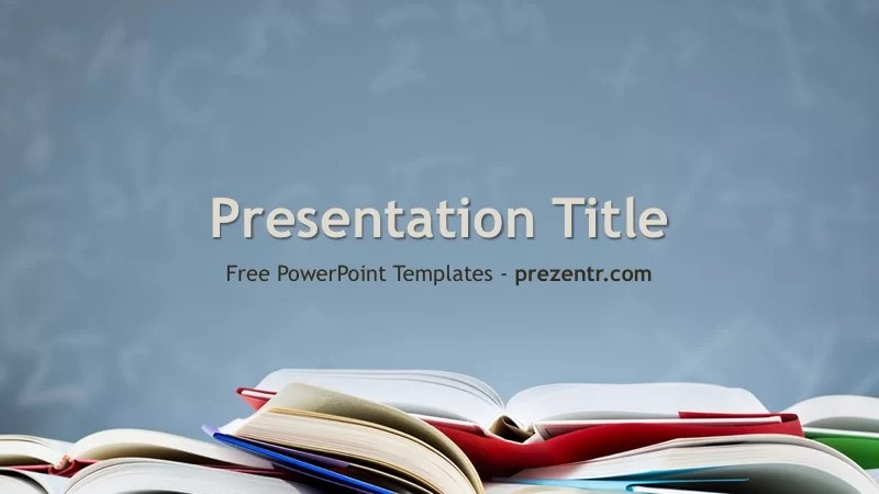 Free Academic PowerPoint Template - Prezentr PPT Templates