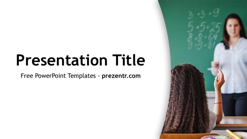 Free Arithmetics PowerPoint Template - Prezentr PPT Templates