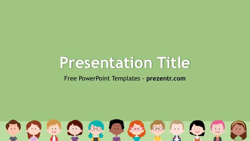 Kid Powerpoint Templates Costumepartyrun