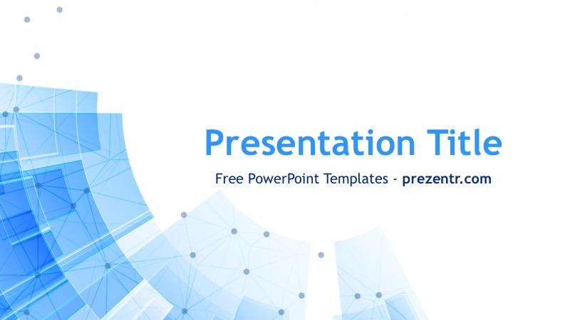 Free Tech PowerPoint Template - Prezentr PPT Templates