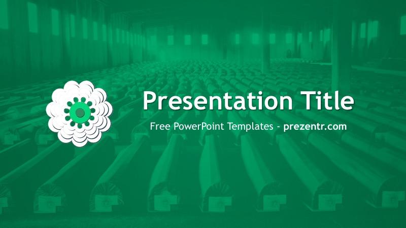 Srebrenica Genocide Memorial PowerPoint Template - memorial powerpoint templates free