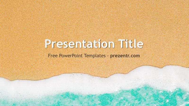 Free Beach PowerPoint Template - Prezentr PPT Templates