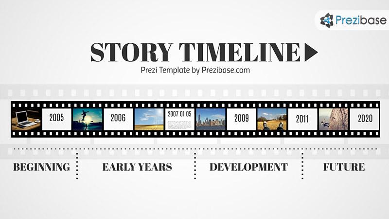 History Timeline Template Timeline Template Office Timeline #1 - simple timeline template