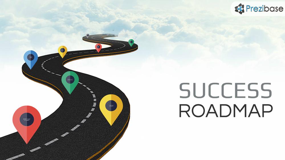 Success Roadmap Prezi Template Prezibase