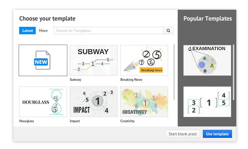 How Create Your Own Prezi Template Prezibase - make your own template