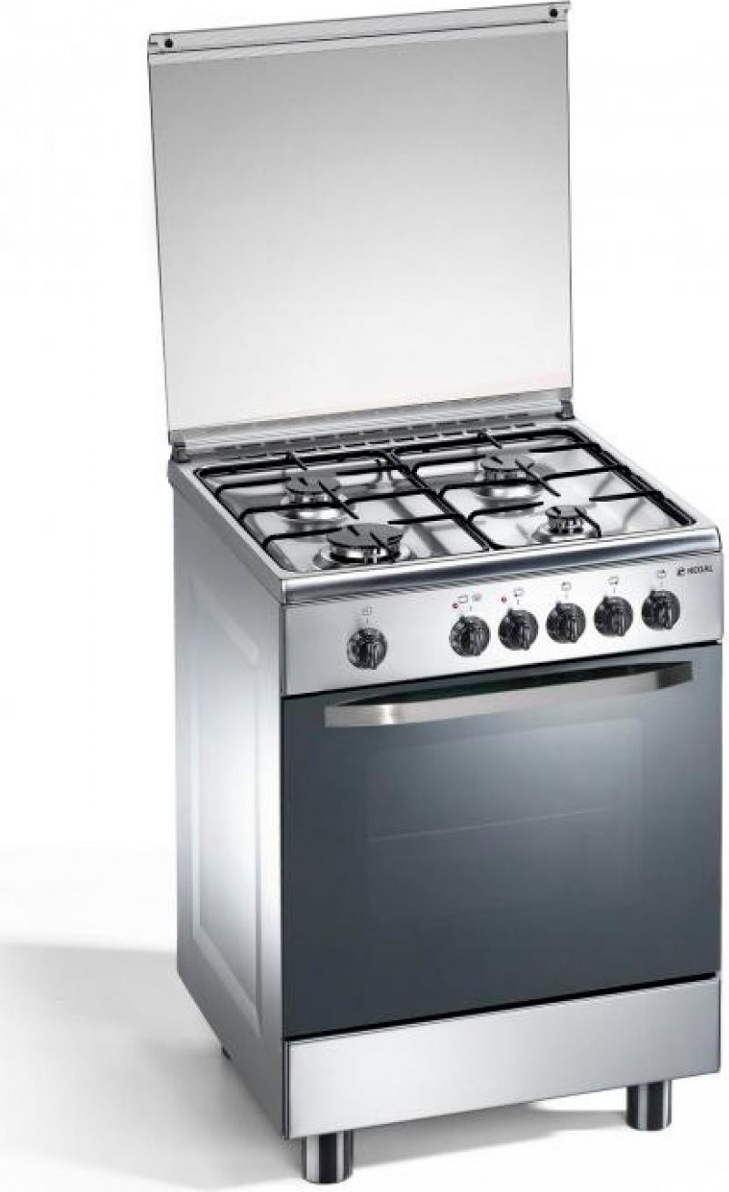 Cucina A Gas Regal By Tecnogas Rc662xsn Forno A Gas 60x60