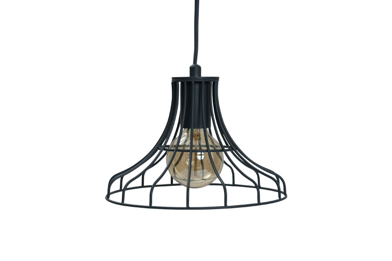 wire dome pendant light lighting pinterest