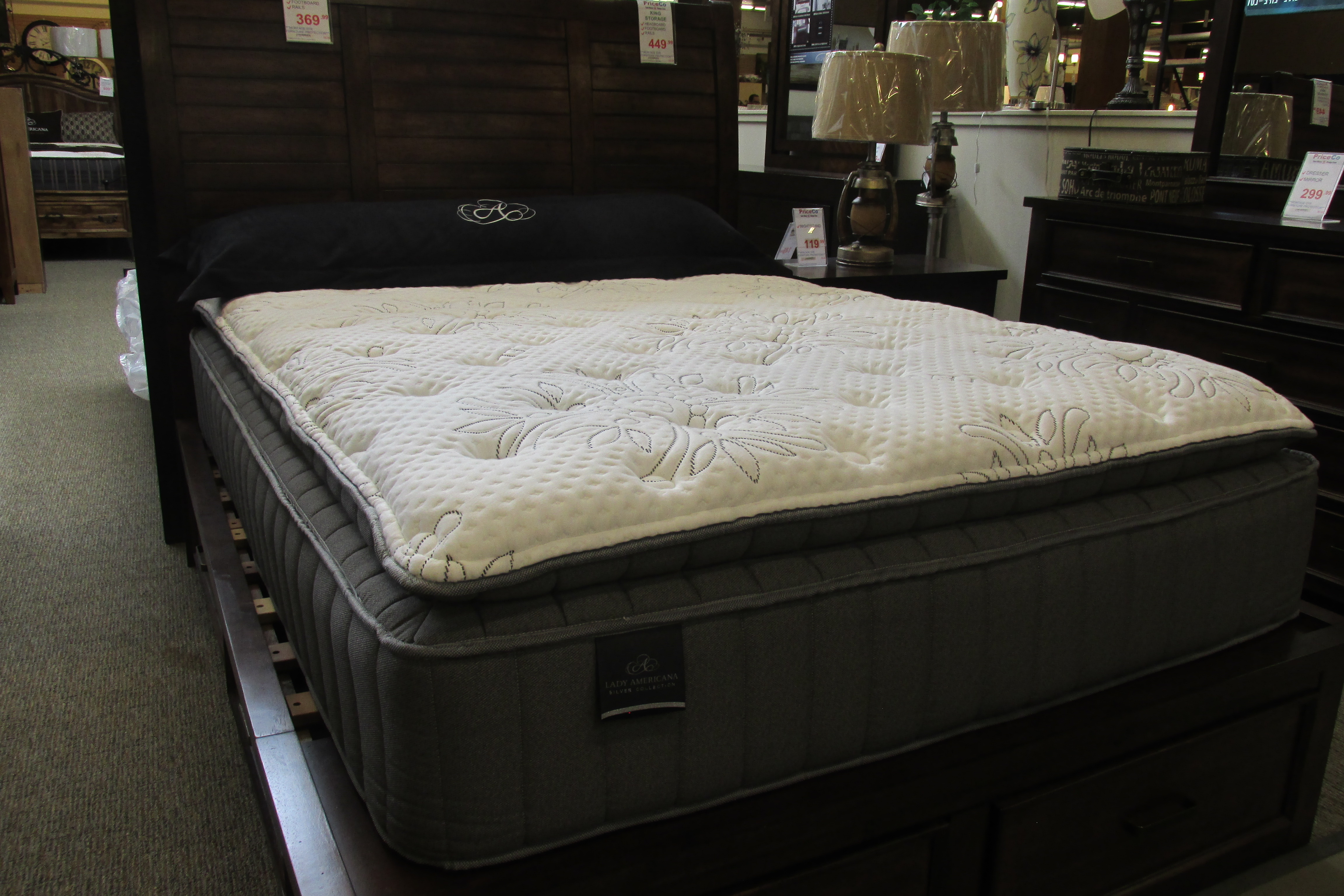 Box Spring Sound Sleep Crescent Bay Mattress Box Mattress Set Available In Queen And King