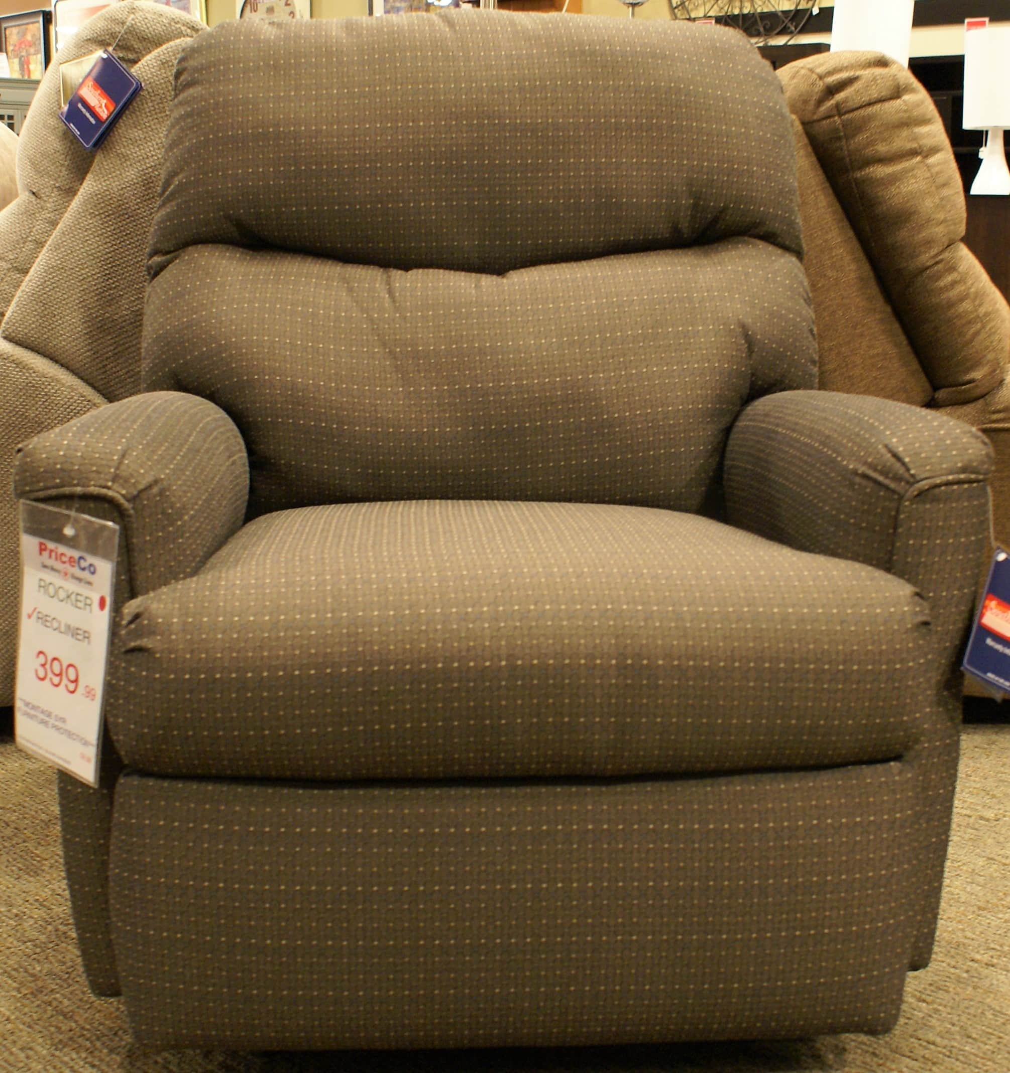 399 Furniture Store Southern Motion 1136 Hope Espresso Rocker Recliner