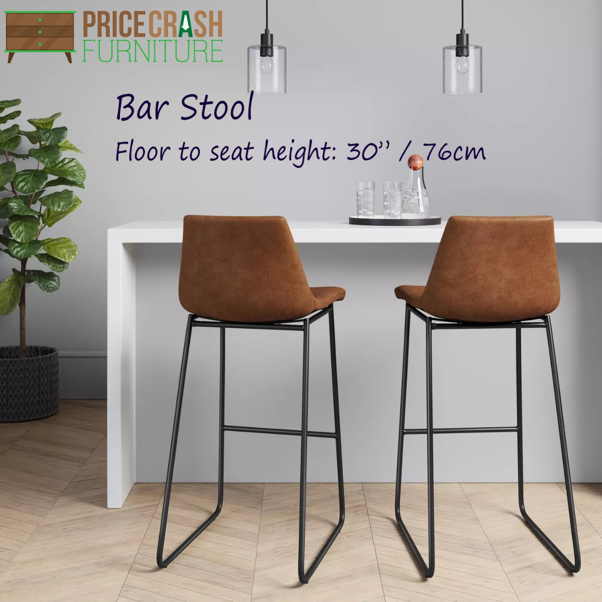 Bowden Upholstered Molded Barstool Caramel Maple