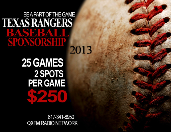 Tx Ranger Baseball Flyer Color Priced Right Signs and Stealth Sports