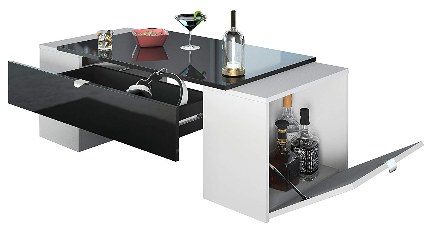 Meuble Tv Et Table Basse Meuble Tv Hifi Table Basse Luck Ultra Design Et Modulable