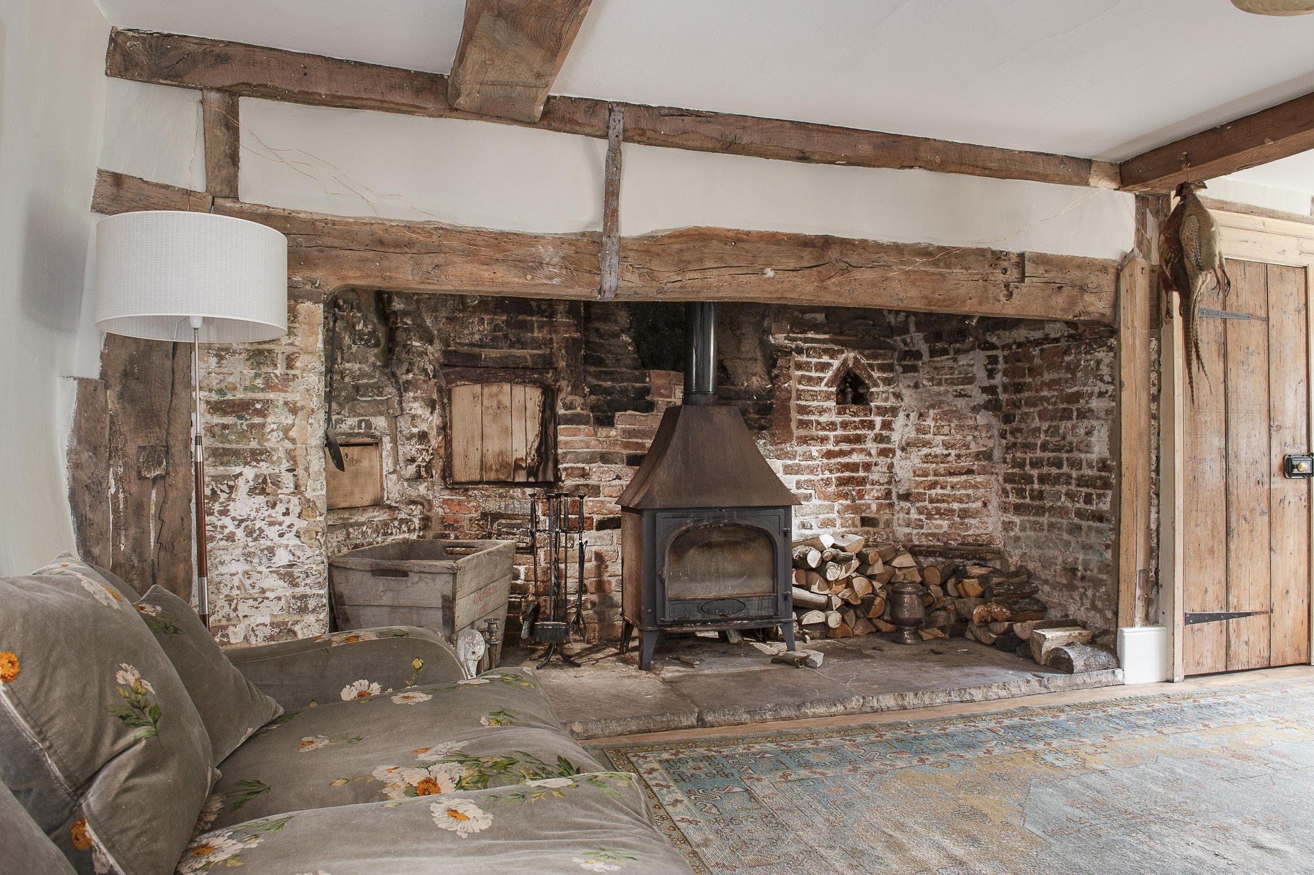 Old Farmhouse Fireplaces Lidham Hill Farmhouse Near Rye Priceless Magazines