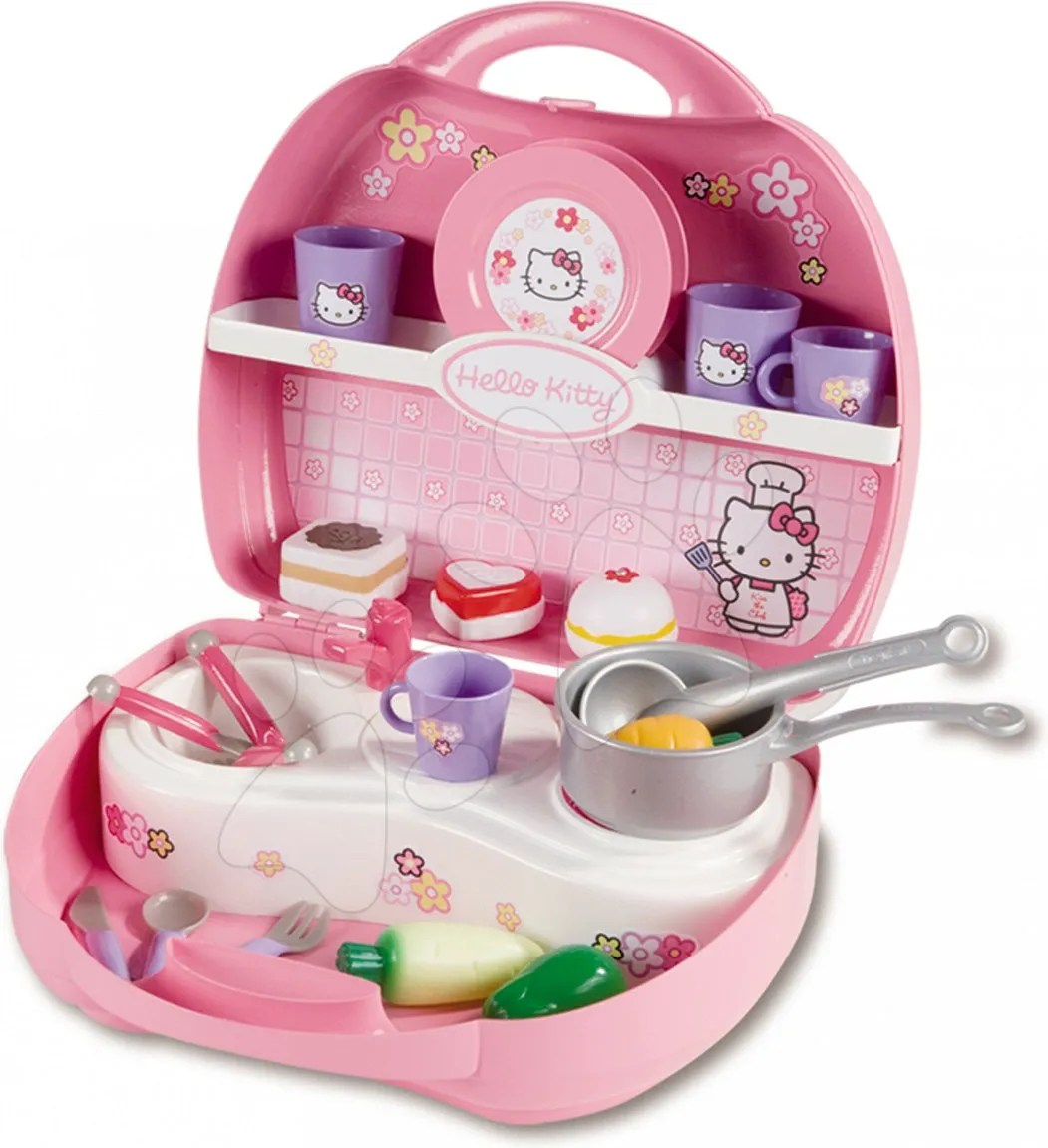 Cuisine Hello Kitty Ecoiffier Smoby Mini Cuisine Hello Kitty 24472 Pricemania