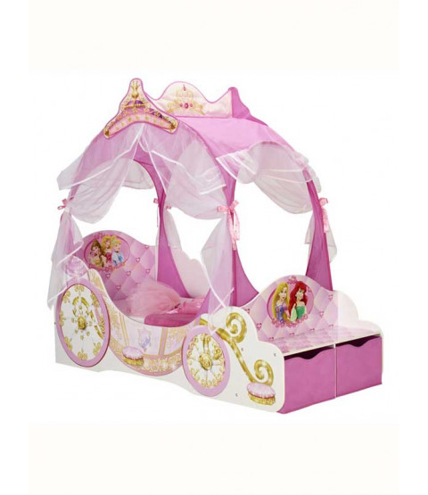Lit Enfant Chez Ikea Disney Princess Carriage Toddler Bed With Storage