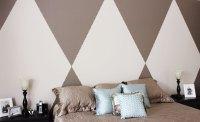 DIYDiamond Pattern Wall With Thumbtack Border   Pride in ...